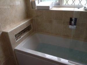 new bath installation