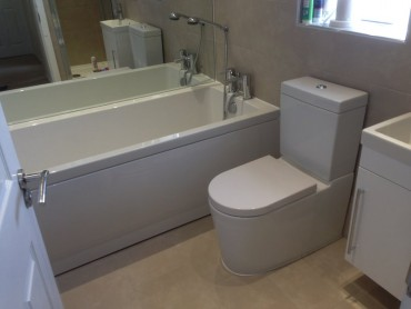 full bathroom works in Swindon