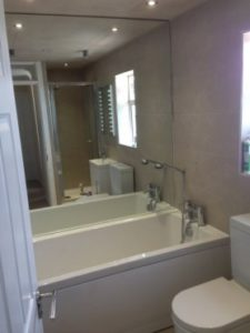 complete bathroom project in Swindon