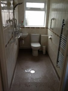 shower room installation in Swindon