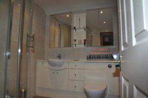 bathroom installation by CentraHeat